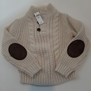 Kids Baby Gap beige  New with tag sweater 4years